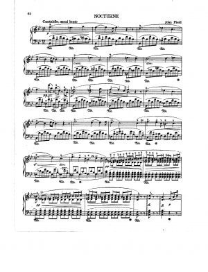 Nocturne No.5 in B-flat major