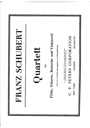 Notturno for Flute, Viola and Guitar, Op.21