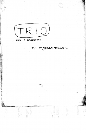 Trio for 3 Recorders