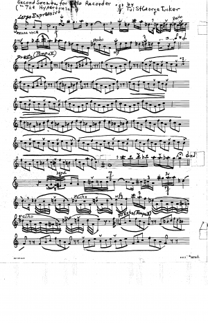 Recorder Sonata No.2