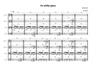 for philip glass