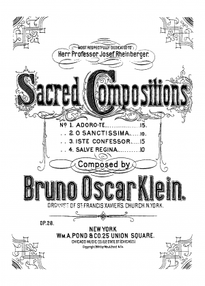 Sacred Compositions