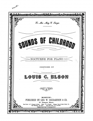 Sounds of Childhood