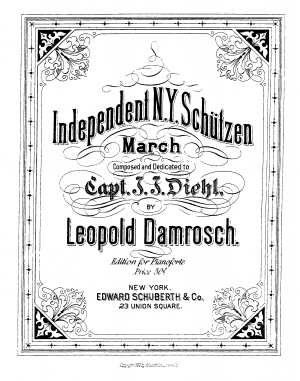 Independent N.Y. Schützen March