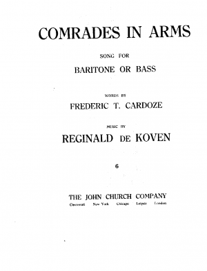 Comrades in Arms