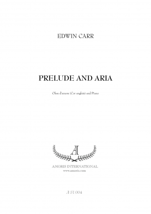Prelude and Aria