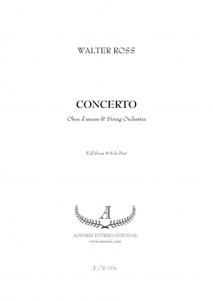 Concerto for Oboe d'amore and String Orchestra