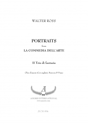"Portraits from ""La Commedia dell'Arte"""