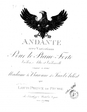 Andante with Variations