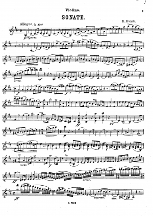 Violin Sonata No.1
