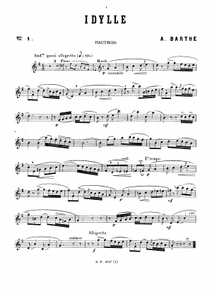 6 Pieces for oboe and piano