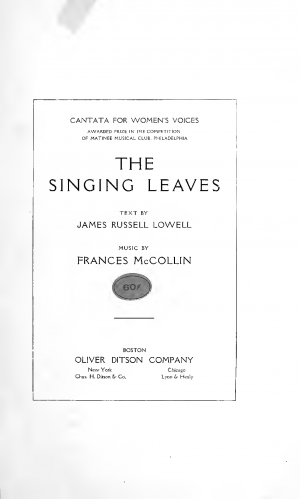 The Singing Leaves