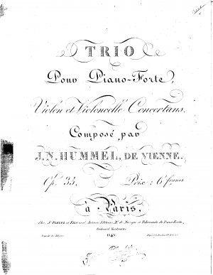 Piano Trio (No.4)
