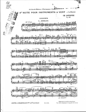 Suites for Winds No.2