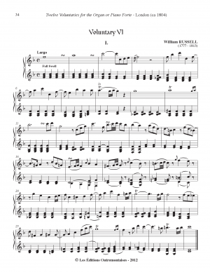 24 Voluntaries for the Organ or Piano Forte