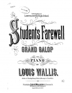 Students' Farewell