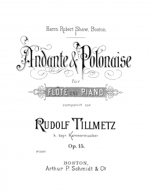 Andante and Polonaise, Op.15