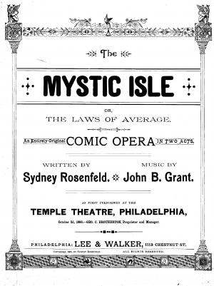 The Mystic Isle, or The Law of Averages