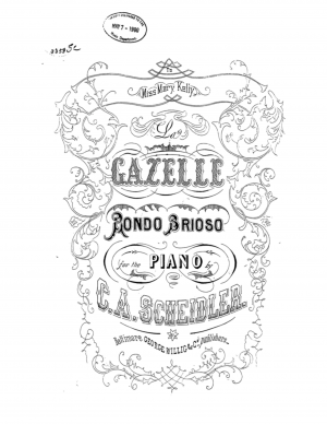 Scheidler, Johann David sheet music
