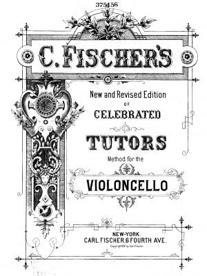 Fischer, Carl August sheet music