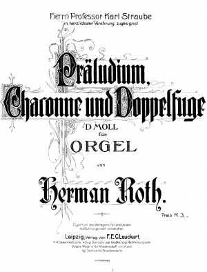 Roth, Philipp sheet music