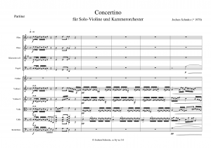 Concertino for Chamber Orchestra and Violin