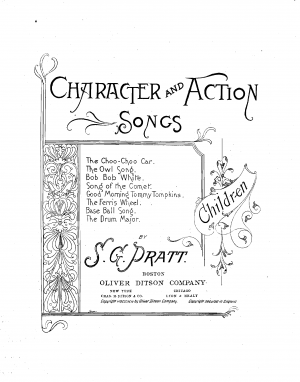 Character and Action Songs