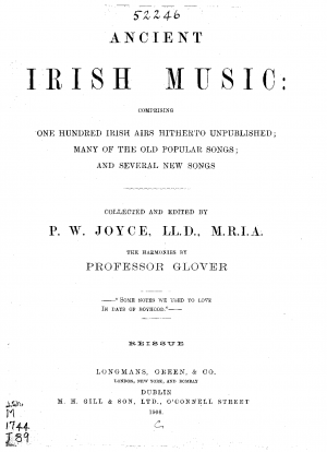 Ancient Irish Music