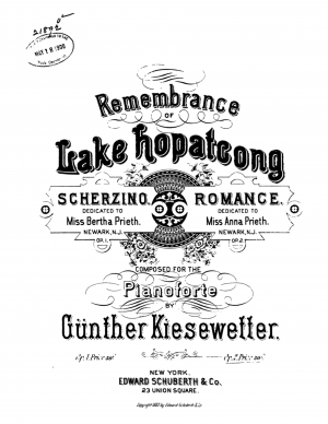 Remembrance of Lake Hopatcong