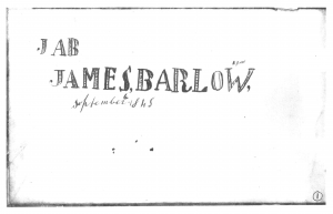James Barlow's Manuscript Tune Book