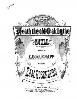 'Neath the Old Oak by the Mill