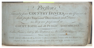 24 Country Dances for the Year 1804