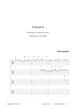 Canzon 6