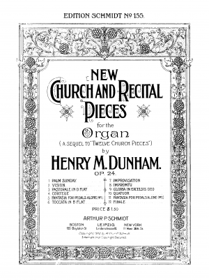 New Church and Recital Pieces