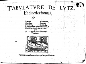 Tabulature de lutz