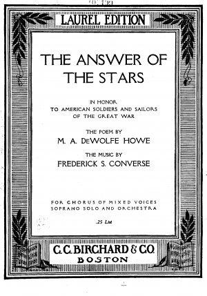 The Answer of the Stars