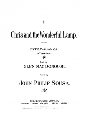 Chris and the Wonderful Lamp