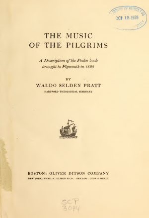 The Music of the Pilgrims
