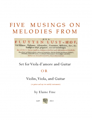 5 Musings on Melodies from van Eyck