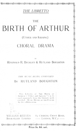 The Birth of Arthur
