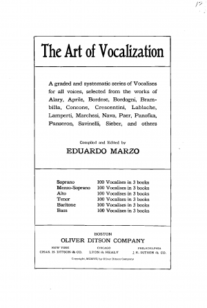 The Art of Vocalization