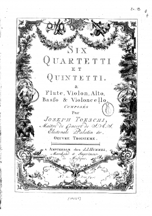 3 Quartets and 3 Quintets, Op.3