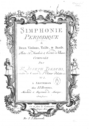 Symphony in D major, MünT 35