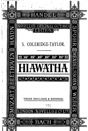The Song of Hiawatha, Op.30