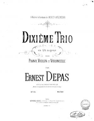 Piano Trio No.10