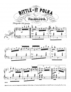 Bittle-It Polka for Piano