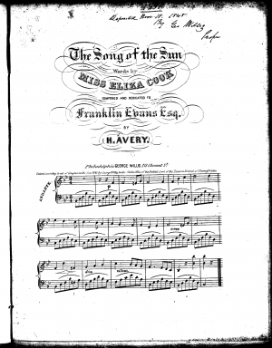 The Song of the Sun