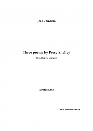 3 Poems by Percy Shelley