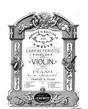 12 Characteristic Pieces, Op.57