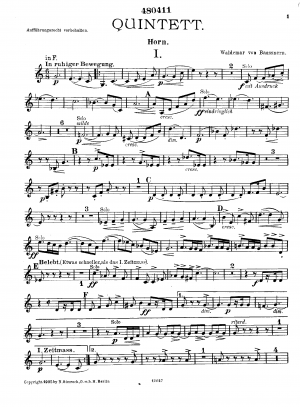 Quintet for Piano, Winds and Strings